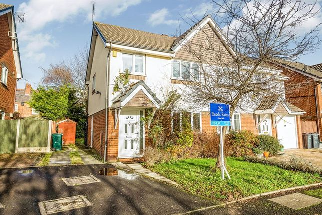Thumbnail Semi-detached house to rent in Melkridge Close, Chester