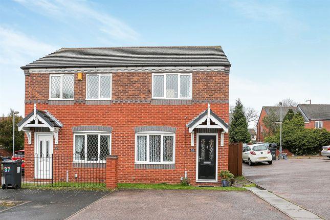 Thumbnail Semi-detached house for sale in Cranwell Grove, Erdington, Birmingham
