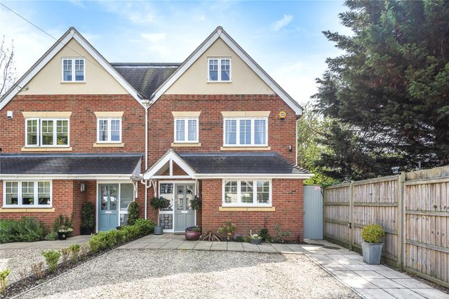 Thumbnail Semi-detached house for sale in Davenant Road, Summertown, Oxford