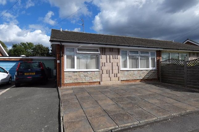 Thumbnail Semi-detached bungalow for sale in Pitt Mill Gardens, Hucclecote, Gloucester
