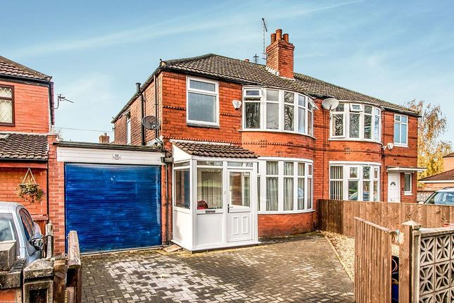 Thumbnail Semi-detached house for sale in Parrs Wood Road, Withington, Manchester
