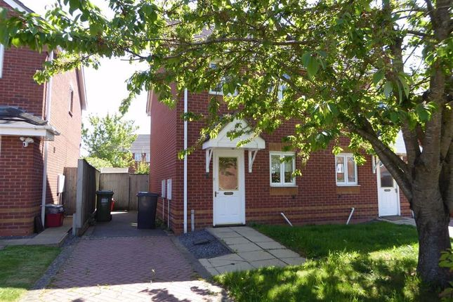 Thumbnail Semi-detached house to rent in Jack Cade Way, Warwick