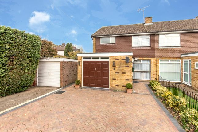 Thumbnail Semi-detached house for sale in Long Barn Close, Watford