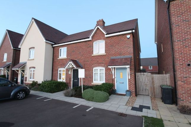Thumbnail 2 bed end terrace house for sale in The Jumps, Marston Moretaine