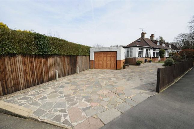 Thumbnail Semi-detached bungalow for sale in Grimsdyke Crescent, Arkley, Herts