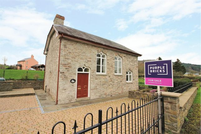 Thumbnail Detached house for sale in Llyswen, Brecon
