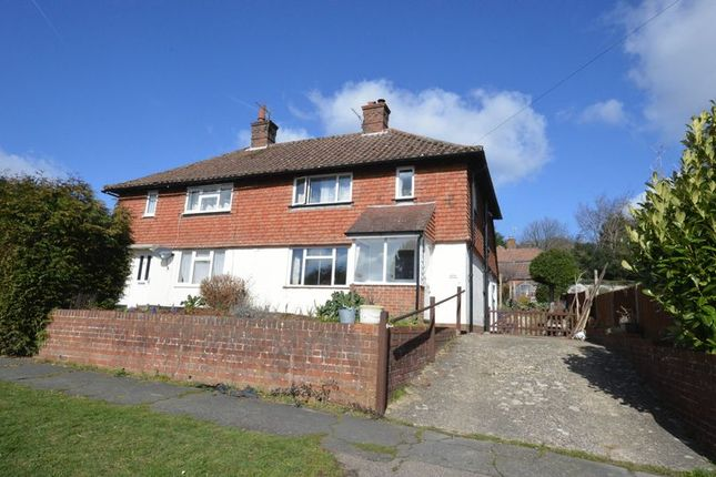 Thumbnail Semi-detached house to rent in Whitfield Road, Haslemere