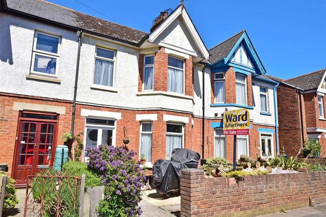 Thumbnail Terraced house for sale in Narrabeen Road, Cheriton, Folkestone, Kent