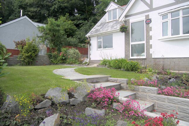 Thumbnail Detached bungalow for sale in Aberdulais, Neath