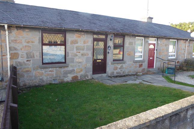 Thumbnail Terraced bungalow for sale in Braemorriston Road, Elgin