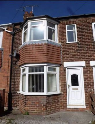 Thumbnail Terraced house to rent in Brendon Avenue, Chamberlain Road, East Hull
