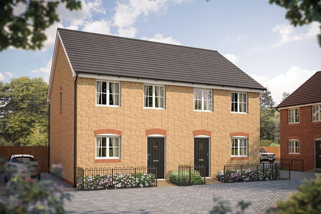 "Thumbnail Semi-detached house for sale in ""The Flitwick"" at Steppingley Road, Flitwick, Bedford"