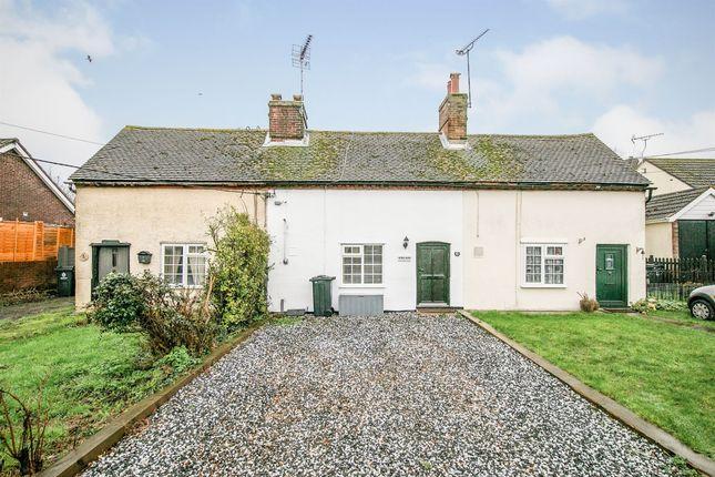 1 bed terraced house for sale in Harwich Road, Little Oakley, Harwich CO12