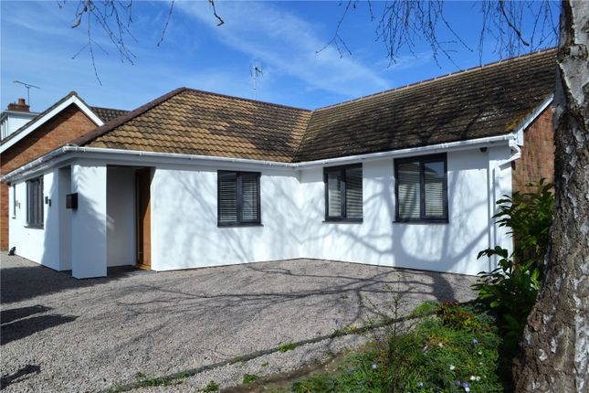 Thumbnail Detached bungalow for sale in Millbank, Warwick, Warwickshire