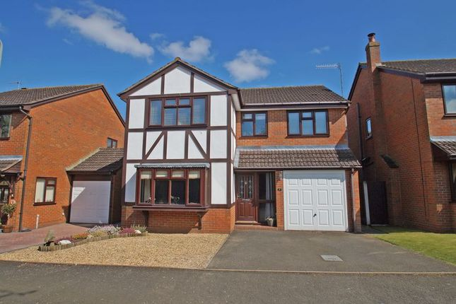 Thumbnail Detached house for sale in Fringe Green Close, Bromsgrove