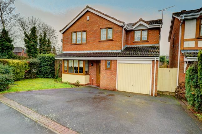 4 bed detached house for sale in Huntingdon Way, Nuneaton
