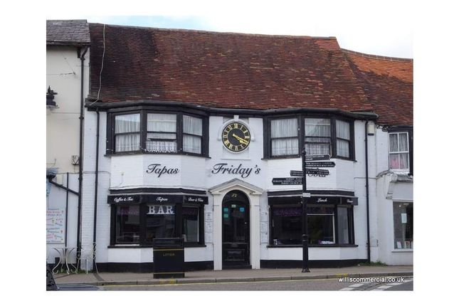 Thumbnail Pub/bar to let in Friday's Bar & Tapas, Ringwood