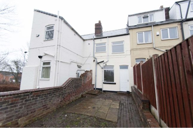 Rear View of Dearne Road, Bolton-Upon-Dearne, Rotherham S63