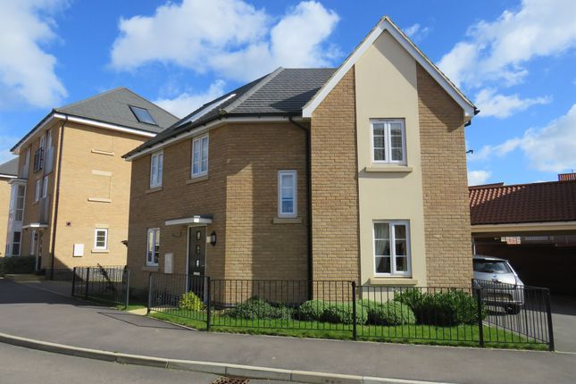 Thumbnail Detached house for sale in Lockgate Road, Hunsbury Meadow, Northampton