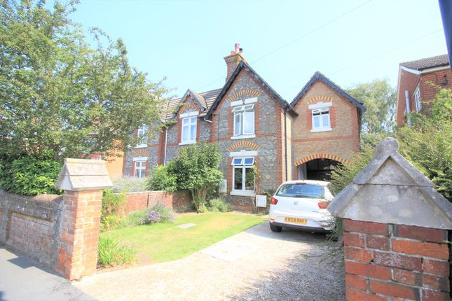 Thumbnail Semi-detached house for sale in Newtown Road, Southampton, Hampshire