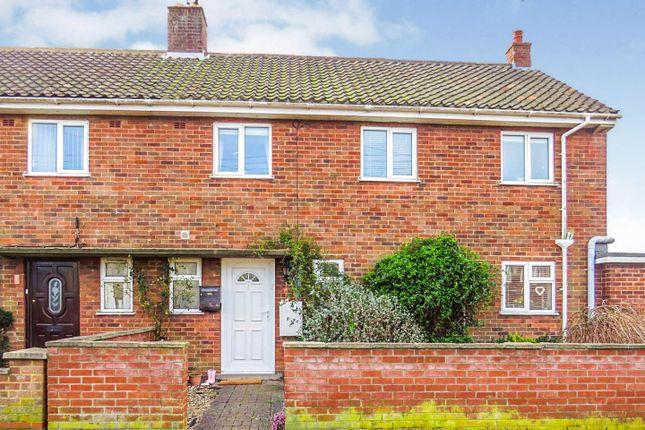 Thumbnail Semi-detached house for sale in Melton Drive, Hunstanton
