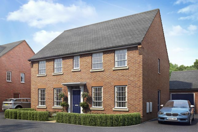 "Thumbnail Detached house for sale in ""Staunton"" at Warkton Lane, Barton Seagrave, Kettering"