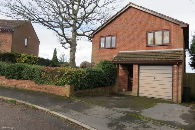 Thumbnail Detached house to rent in Glebe Close, Upton Pyne, Exeter