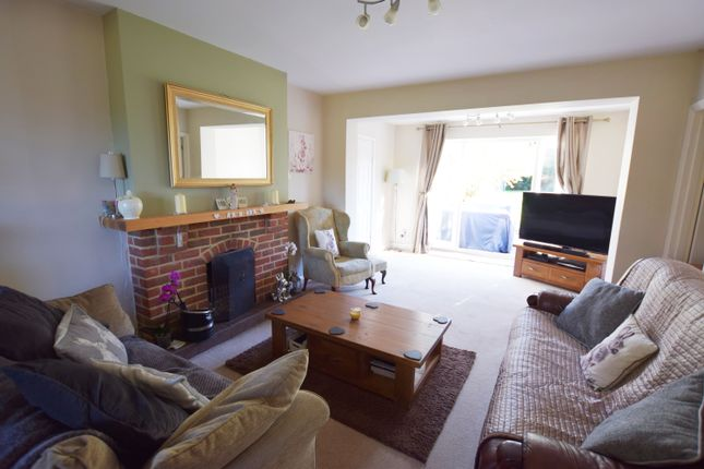 Thumbnail Detached bungalow for sale in Mytchett Road, Mytchett, Camberley