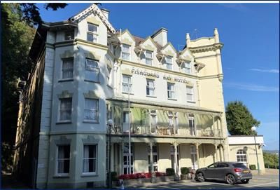 Thumbnail Hotel/guest house for sale in Fishguard Bay Hotel, Quay Road, Goodwick, Pembrokeshire