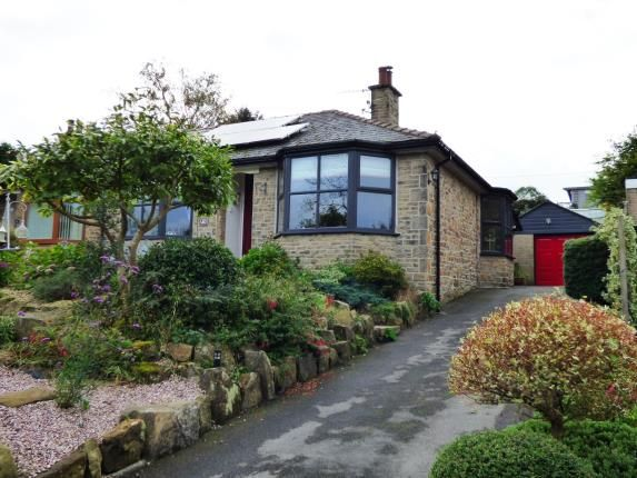 Thumbnail Bungalow for sale in Crescent Drive, Furness Vale, High Peak, Derbyshire