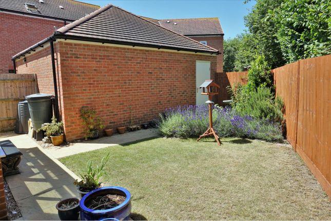 Rear Garden of Baileys Way, Hambrook PO18
