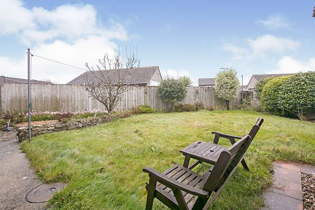 Rear Garden of Huntersfield, Tolvaddon, Camborne, Cornwall TR14