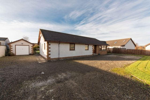 Thumbnail Detached house for sale in Gordon Terrace, Hill Of Fearn, Tain, Highland