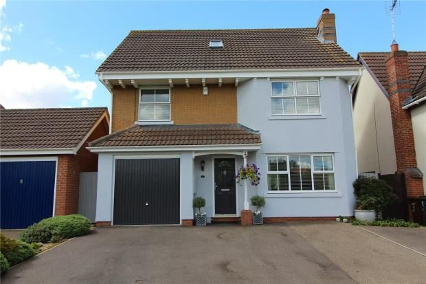 Thumbnail Detached house for sale in Flatford Road, Haverhill, Suffolk