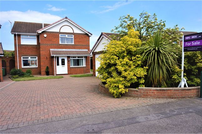 Thumbnail Detached house for sale in Cormorant Drive, Redcar