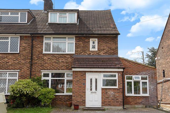 Thumbnail Semi-detached house for sale in Hamilton Way, Wallington