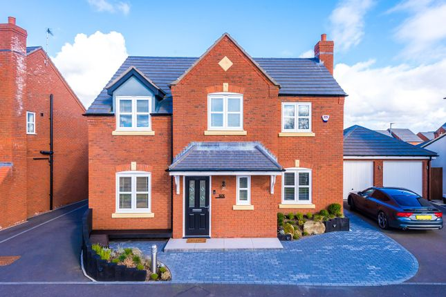 Thumbnail Detached house for sale in Shirebrook Close, St Helens