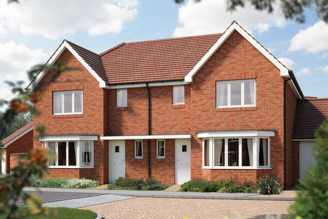 """Thumbnail Semi-detached house for sale in """"The Ewell"""" at Iden Hurst, Hurstpierpoint, Hassocks"""