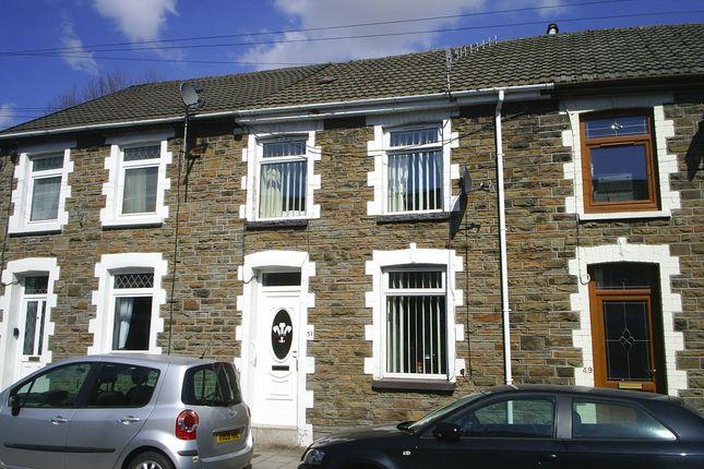 Thumbnail Terraced house for sale in Blaengarw Road, Blaengarw