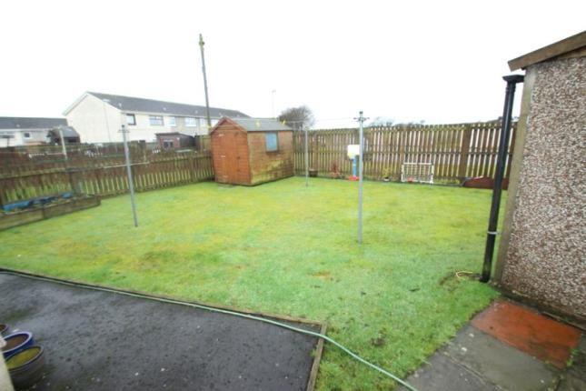 Garden of Moss Avenue, Caldercruix, Airdrie, North Lanarkshire ML6