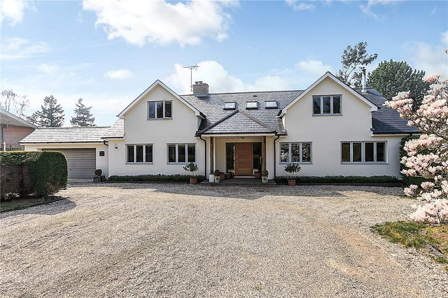 Thumbnail Detached house for sale in Pond Lane, Hermitage, Thatcham, Berkshire