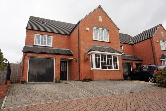 Thumbnail Detached house for sale in Monterey Court, Leicester