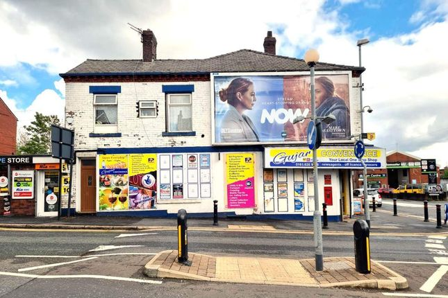 Thumbnail Retail premises for sale in Hollins Road, Oldham