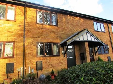 Thumbnail Terraced house for sale in Wheatcroft Gardens, Rushden