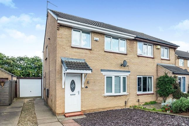Thumbnail Semi-detached house to rent in Cardinal Grove, Stockton-On-Tees