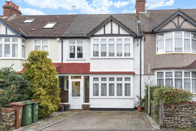 Thumbnail Terraced house for sale in Reigate Way, Wallington