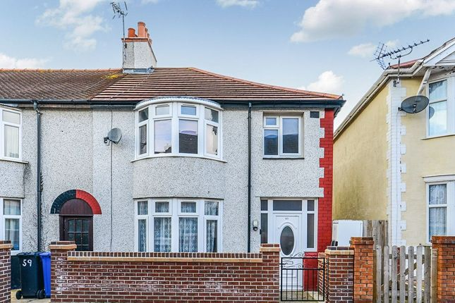 Thumbnail Semi-detached house to rent in Millbank Road, Rhyl