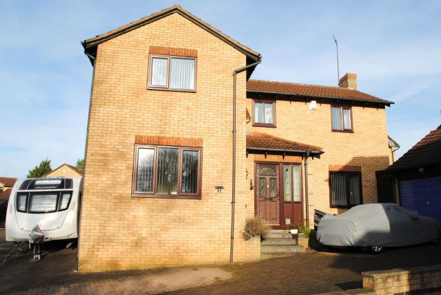 Thumbnail Detached house for sale in Tollgate Close, Kingsthorpe, Northampton