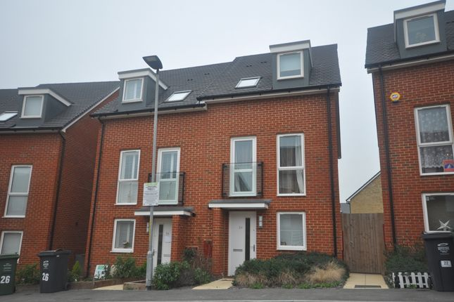 Thumbnail Semi-detached house to rent in Burroughs Drive, Dartford