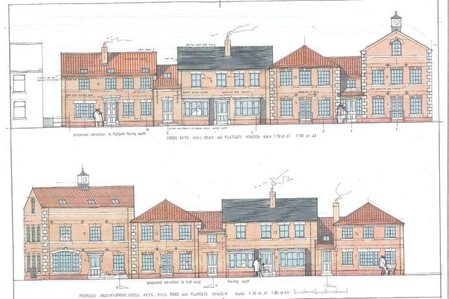 Thumbnail Studio to rent in Hull Road, Howden, Goole